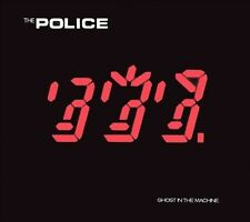 THE POLICE Ghost In The Machine  CD