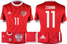 *2017 -ADIDAS; RUSSIA CONFEDERATIONS CUP HOME SHIRT SS / ZOBNIN 11 =KIDS SIZE*