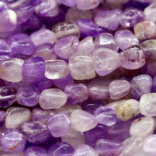 """Wholesale Natural Genuine Lavender Amethyst Nugget Loose Beads Free Form 16"""""""
