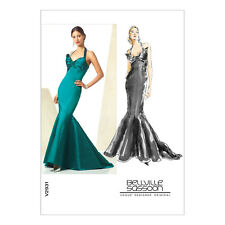 Vogue Bellville Sassoon Sewing Pattern Misses' Evening Dress Sizes  6 - 16 V2931