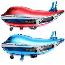31 inch Flying Plane Shape Balloon Airplane  Foil Helium Balloon Gift Party WFWF
