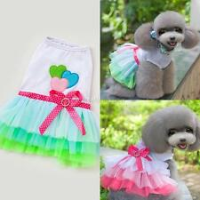 New Small Dog Cat Skirt Princess Tutu Dress Clothes Pet Puppy Apparel Costume