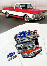 Chevrolet Trucks T-Shirt: 1967 1968 1969 1970 1971 1972 Cheyenne Chevy C/K C-10