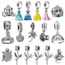 New Brand 925 Silver Charms Fit sterling European Bead Bracelets Chain Necklace