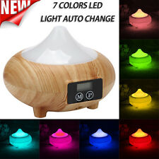 7 Colors LED Ultrasonic Aroma Humidifier Essential Oil Diffuser Air Aromatherapy