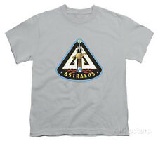 Youth: Eureka - Astraeus Mission Patch Apparel Kids T-Shirt - Silver