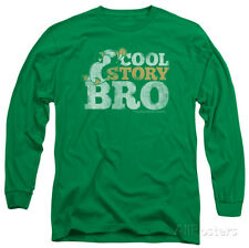 Long Sleeve: Chilly Willy - Cool Story Apparel Longsleeve Shirt - Kelly Green