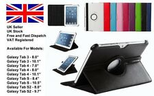 360 rotating leather case stand cover for Galaxy Tab A S Tab S2 Tab 4 3