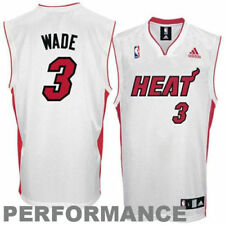 Dwyane Wade Miami Heat adidas Youth Replica Home Jersey - White - NBA