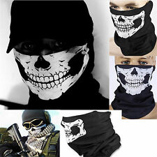 Skeleton Ghost Skull Face Mask Biker Balaclava Call of Duty COD Costume Game New
