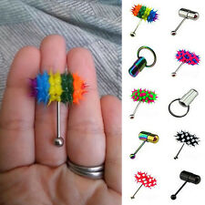 Fashion Style Body Jewelry Vibrating Ring Tongue Bar Piercing Personality Stud
