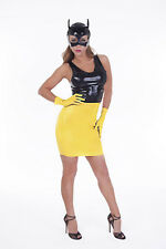 Yellow Latex WRIST/SHORT Gloves / Unisex / Made in UK / 108a