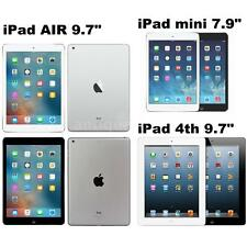 "Apple iPad mini mini 2 7.9"" iPad Air iPad 4th 9.7"" 16GB 32GB 64GB WiFi Only W3G0"
