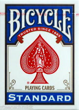 OLD CLASSIC DESIGN Poker Sized BLUE Back Bicycle Deck Playing Cards Magic Trick