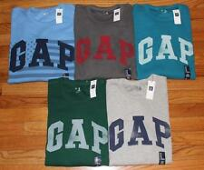 NEW NWT Mens GAP Arch LOGO Long Sleeve Waffle Knit Alpine Thermal Shirt 5-Colors
