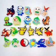 Pokemon Shoe charms lovely shoe accessories fit croc shoe Kid Christmas Gift