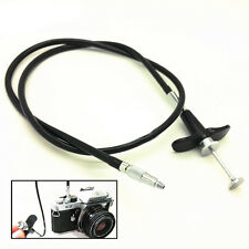 40/70/100 cm Camera Shutter Control Cable Mechanical Locking Release Remote Cord