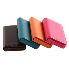 New Pocket PU Leather Business ID Credit Card Holder Case Wallet Cool