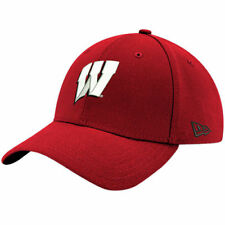 Wisconsin Badgers New Era NCAA Relaxed Fitted 49Forty Headwear - Red