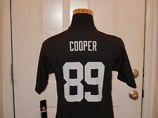 Brand New w/Tags Black Oakland Raiders Amari Cooper #89 NFL Jersey Youth Sizes