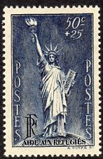 France Scott #B 44 VF MNH 1937 50c Statue of Liberty for Political Refugees