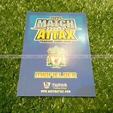 08/09 EXTRA CLUB CAPTAIN NEW SIGNING CARD MATCH ATTAX 2008 2009