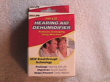Dri Eze HEARING AID DEHUMIDIFIER Removes Daily Damaging Moisture 400587 PROTECT