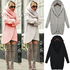 Fashion Women's Slim Long Coat Jacket Woolen Warm Parka Outwear Cardigan Coat