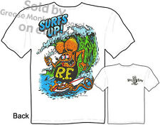 Ed Roth Rat Fink Clothing Surfs Up Tee Ratfink T Shirts Big Daddy Roth T Shirts