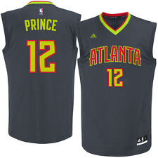 Taurean Prince Atlanta Hawks adidas Road Replica Jersey - Black - NBA