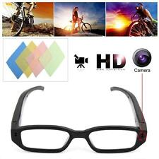 720P Mini Glasses Spy Hidden Camera Glasses Eyewear Recorder Cleaning Clothes
