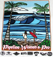 New Heather Brown Art Womens Triple Crown Surfing Contest Hawaii NWT Tee Shirt