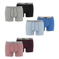 Puma or Head Mens Boxer Short Briefs  2 Pack