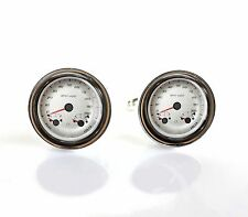 Car Speedometer Cuff Links Classic Car Hot Rod Speedometer Cufflinks
