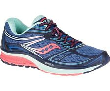 Women's Saucony Guide 9 Running Shoes - Blue/Coral - NIB!