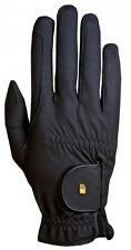 New Roeckl Chester Gloves- Black- Various Sizes