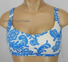 NEW LULULEMON Free To Be Bra 10 Laceoflage Beaming Blue Polar Cream NWT Sports