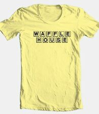 Waffle House T-shirt retro 1980's fast food 100% cotton graphic mens tee