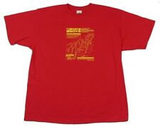 Beastie Boys Mechanical Parrots Mens Red T Shirt New Official Merch Adult