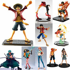 Japanese Anime One Piece Figurines Luffy /Nami/Ace /Zoro/Sanji Figure Toy In Box