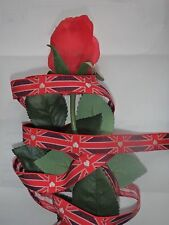 Ribbon east of india all lengths handmade crafts gift wrap favours union jack