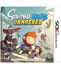 Scribblenauts Unmasked: A DC Comics Adventure (Nintendo 3DS, 2013) GAME ONLY!