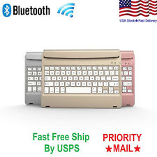 Bluetooth Wireless Keyboard Wake/Sleep Case For Apple iPad Air 2 / iPad Pro 9.7""