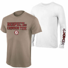 Alabama Crimson Tide 2-Pack Respect Combo T-Shirt Set - Gray - NCAA