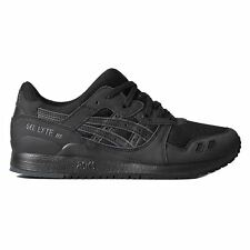 Asics Gel Lyte III Black Mens Trainers