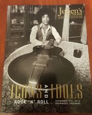 JULIEN'S AUCTIONS ICONS AND IDOLS CATALOG 11/5/16 PRINCE THE BEATLES SLASH RARE