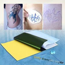 10Sheets Tattoo Transfer Carbon Paper Supply Tracing Copy Body Stencil A4 PYH