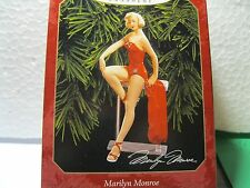 1999 Hallmark MARILYN MONROE - PIN-UP POSE IN RED BATHING SUIT