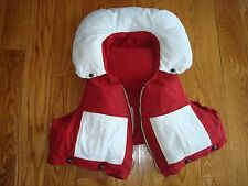 Vintage Hydroplane Race Racing Life Jacket Mercury Mark 20H KG7 Outboard Motor