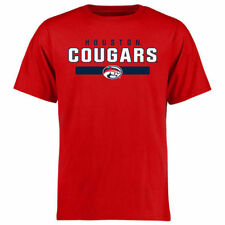 Houston Cougars Fanatics Branded Team Strong  T-Shirt - Red